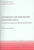 Governance and State Delivery in Southern Africa