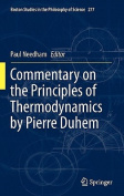 Commentary on the Principles of Thermodynamics by Pierre Duhem