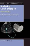Analyzing Communication