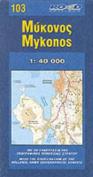 Map of Mykonos