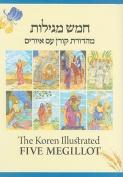The Koren Illustrated Five Megillot