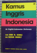 An English-Indonesian Dictionary