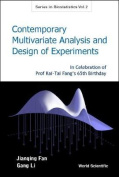 Contemporary Multivariate Analysis And Design Of Experiments