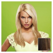 hairdo from Jessica Simpson and Ken Paves 60cm Vibralite Synthetic Clip-In Extension, Straight, Chestnut