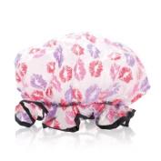 Spa Sister Shower Parlour Bag + Shower Cap Kisses
