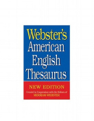 Webster's American English Thesaurus