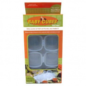 Food Storage BPA Free Baby Cubes