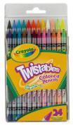 . 24 Twistables Colored Pencils