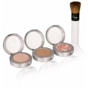 Pur Minerals Start Now! 4-Piece Essentials Collection, Light 1 set
