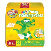 Earth's Best Training Pants 2T 3T, 29 Count