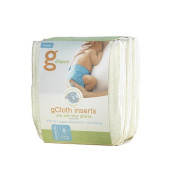 gNappiess 6 Count G Cloth Insert - Small