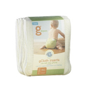 gDiapers gCloth Inserts, 6-Count