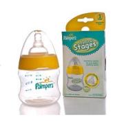 Pampers Natural Stages BPA Free Nurser - Stage 1 - 150ml