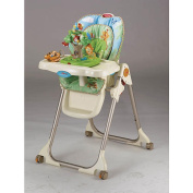 Fisher-Price High Chair with Toy Tray - Rainforest
