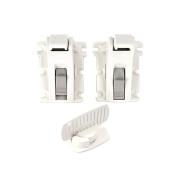 Kidco Adhesive Mount Magnetic Drawer and Door Locks Starter Set