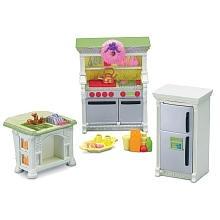 Fisher Price Loving Family Dollhouse Premium Decor Furniture Set Kitchen