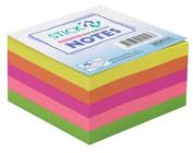 Stick-N Notes Neon Rainbow Cube