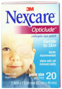 Nexcare Opticlude Orthoptic Eye Patches, Junior Size, 20-Count Boxes