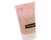 Neutrogena Oil-Free Acne Wash, Foaming Scrub, 120ml