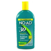 No-ad Broad Spectrum SPF 30 Sunscreen Lotion, 470ml