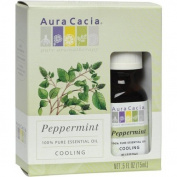 Aura Cacia Peppermint Essential Oil .5 fl oz