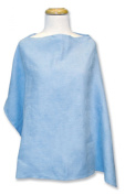 Trend Lab Ultra Suede Nursing Cover - Blue