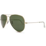 Ray Ban Sunglasses Classic Aviator Arista Gold.
