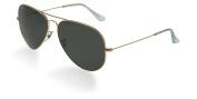 Ray Ban RB3026 Large Aviator II Sunglasses - L2846 Arista Gold (G-15XLT Lens) - 62mm