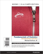 Fundamentals of Statistics, Books a la Carte Edition