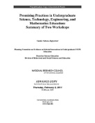 Promising Practices in Undergraduate Science, Technology, Engineering, and Mathematics Education