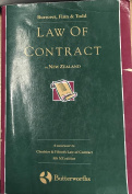Law of Contract in New Zealand