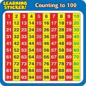 Counting to 100 Learning Stickers