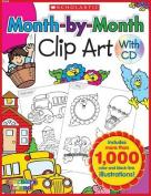 Teachers Friend TF-1610 Month-By-Month Clip Art Book