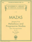 75 Melodious and Progressive Studies, Op. 36 - Book 1
