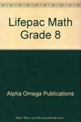 Alpha Omega Publications MAT 0820 Numbers and Factors