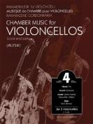 Chamber Music for Violoncellos 4/Kammermusik Fur Violoncelli 4/Musique de Chambre Pour Violoncelles 4/Kamarazene Gordonkakra 4