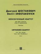 Unfinished Quartet: Score