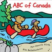 ABC of Canada [Board Book]