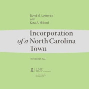 Incorporation of a North Carolina Town