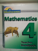 Horizons Math 4 Teacher Book