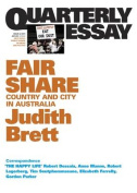 Fair Share: Country and City in Australia