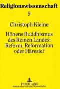 Honens Buddhismus Des Reinen Landes [GER]