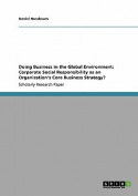 Doing Business in the Global Environment