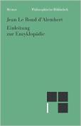 Einleitung Zur Enzyklopadie