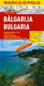 Bulgaria Marco Polo Map (Marco Polo Maps
