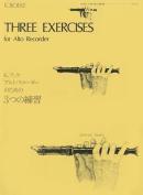 3 Exercises: For Alto Recorder