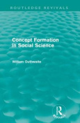 Concept Formation in Social Science