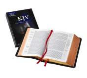 KJV Clarion Reference Edition KJ486:XE Black Goatskin Leather
