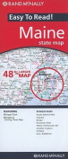 Rand McNally Maine State Map