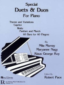 Special Duets & Duos for Pianos